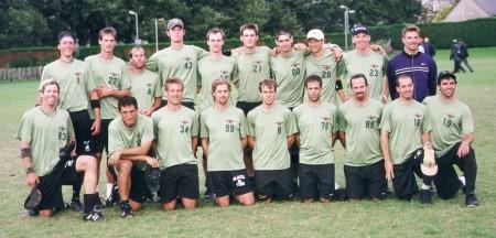 Команда Condors натурнире WUCC 1999 (ОД, 3/39)