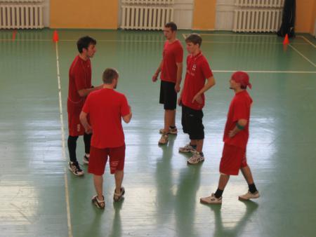 Команда Спинин натурнире Winter Brest 2010 (ОД, 9/11)