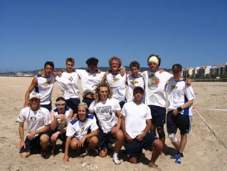 Команда USA натурнире WCBU 2004 (ОД, 1/14)