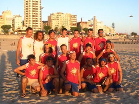 Команда France натурнире WCBU 2004 (ОД, 2/14)