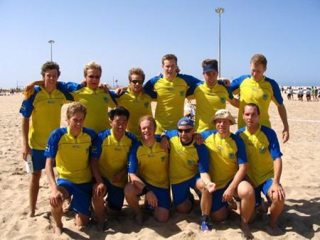 Команда Sweden натурнире WCBU 2004 (ОД, 3/14)
