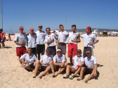 Команда Switzerland натурнире WCBU 2004 (ОД, 4/14)