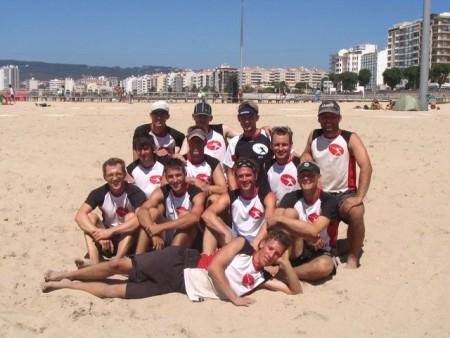 Команда Germany натурнире WCBU 2004 (ОД, 6/14)