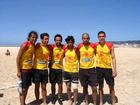 Команда Columbia натурнире WCBU 2004 (ОД, 7/14)