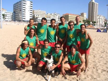 Команда Portugal натурнире WCBU 2004 (ОД, 8/14)