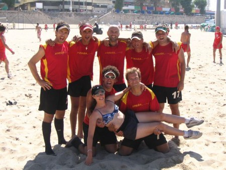 Команда Spain натурнире WCBU 2004 (ОД, 9/14)