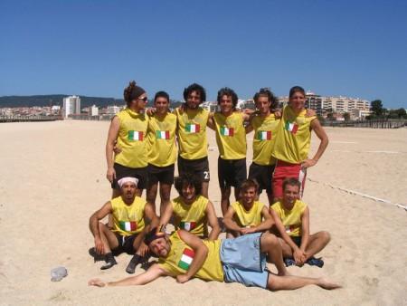 Команда Italy натурнире WCBU 2004 (ОД, 12/14)