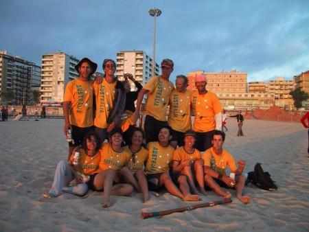 Команда Australia натурнире WCBU 2004 (Микс дивизион, 6/14)