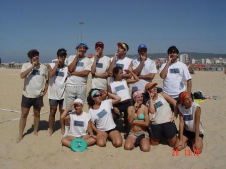 Команда Brazil натурнире WCBU 2004 (Микс дивизион, 7/14)