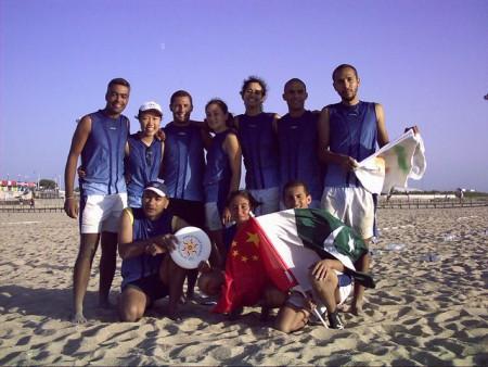 Команда WestEast Indies натурнире WCBU 2004 (Микс дивизион, 8/14)