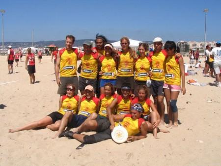 Команда Colombia натурнире WCBU 2004 (Микс дивизион, 9/14)
