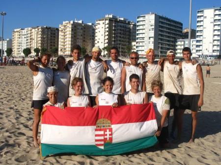 Команда Hungary натурнире WCBU 2004 (Микс дивизион, 10/14)