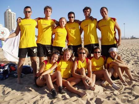 Команда Spain натурнире WCBU 2004 (Микс дивизион, 13/14)