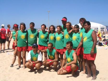 Команда Portugal натурнире WCBU 2004 (Микс дивизион, 14/14)
