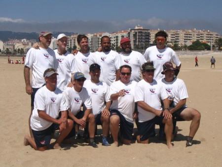 Команда USA натурнире WCBU 2004 (OM, 2/5)
