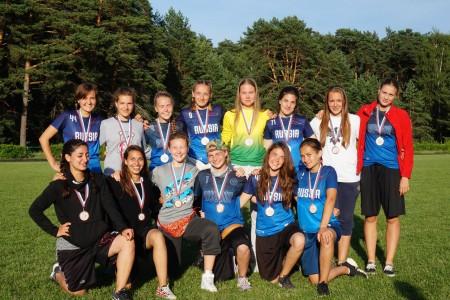 Команда Women National Junior Team U19 натурнире Охота на Жар-птицу 2016 (ЖД, 3/4)