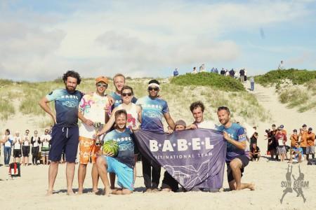 Команда Babel Currier натурнире Sun Beam 2016 (ОД, 6/8)