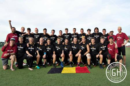 Команда BEL U20 натурнире WJUC 2016 (U20 Men's, 9/29)