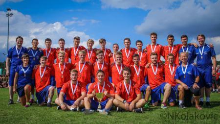 Команда GBR U20 натурнире WJUC 2016 (U20 Men's, 3/29)
