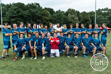 Команда ITA U20 натурнире WJUC 2016 (U20 Men's, 5/29)