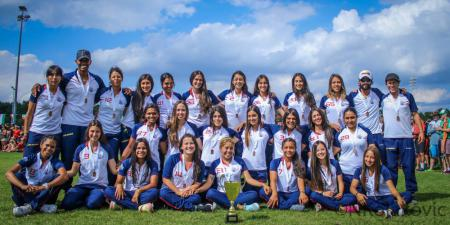Команда COL U20 натурнире WJUC 2016 (U20 Women's, 3/20)