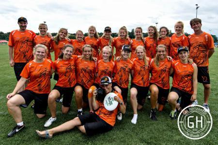 Команда NED U20 натурнире WJUC 2016 (U20 Women's, 4/20)
