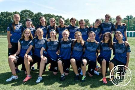 Команда RUS U20 натурнире WJUC 2016 (U20 Women's, 9/20)