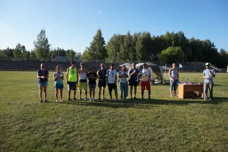 Команда Фря-crew натурнире Позитрон 2016 (Микс дивизион, 3/10)