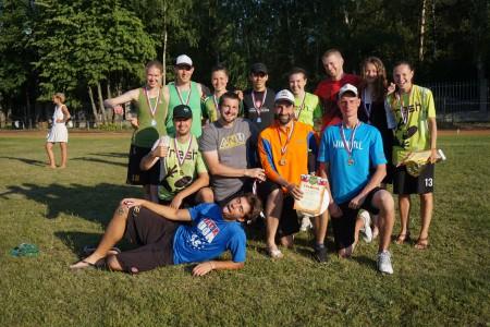Команда Fresh натурнире Позитрон 2016 (Микс дивизион, 1/10)