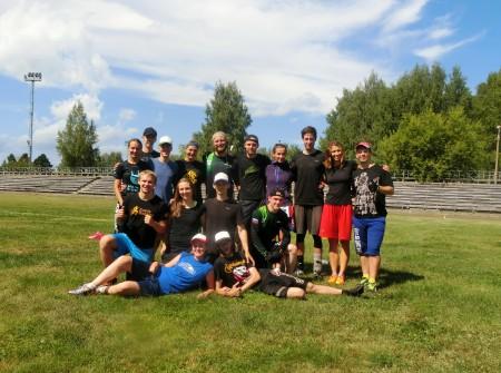 Команда Миксер натурнире Позитрон 2016 (Микс дивизион, 9/10)