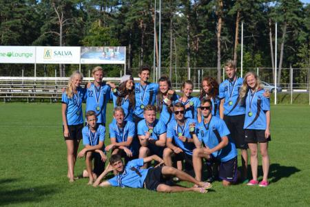 Команда Salaspils Jr [LAT] натурнире Mixed Madness 2016 (Микс дивизион, 3/10)