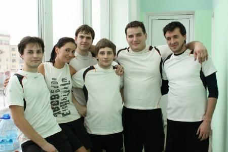 Команда Ирбис натурнире Минск 2009 (ОД, 7/12)