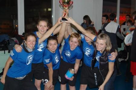 Команда Бриллианс натурнире Минск 2009 (ЖД, 1/4)