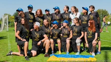 Команда Dyki Krali натурнире EUCR East O+W 2016 (ЖД, 7/10)