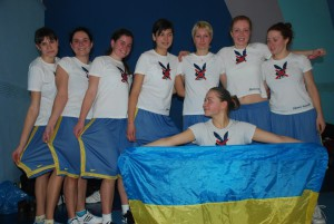 Команда Дикi Кралi натурнире Минск 2009 (ЖД, 4/4)