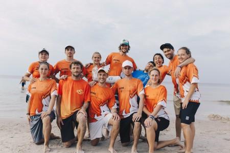 Команда Bivni натурнире SandSlash 2016 (Микс дивизион, 10/30)