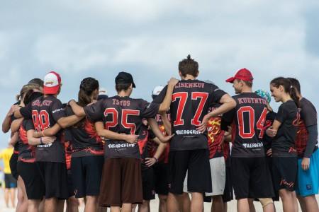 Команда Phoenix натурнире SandSlash 2016 (Микс дивизион, 8/30)