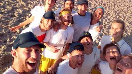 Команда Rusty Bikes натурнире SandSlash 2016 (Микс дивизион, 4/30)