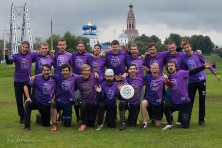 Команда Флаинг Степс натурнире ОЧР 2016 (ОД, 7/14)
