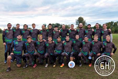 Команда FAB натурнире EUCF 2016 (ОД, 7/24)