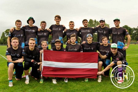Команда Salaspils WT натурнире EUCF 2016 (ОД, 8/24)