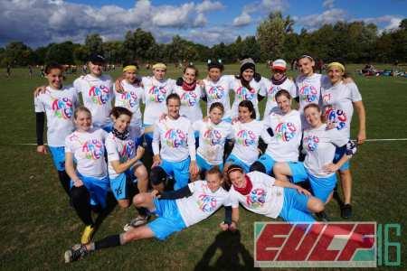 Команда Troubles натурнире EUCF 2016 (ЖД, 4/12)
