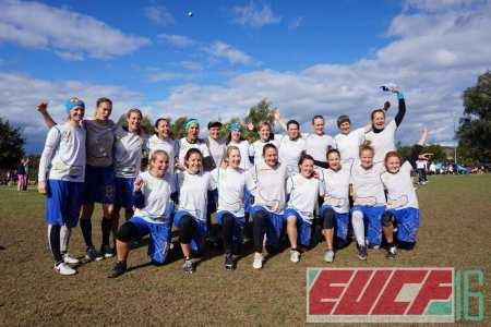 Команда FABulous натурнире EUCF 2016 (ЖД, 1/12)