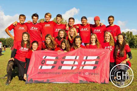 Команда 3SB натурнире EUCF 2016 (МД, 8/12)