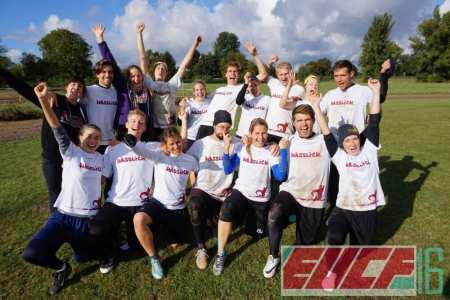 Команда Hässliche Erdferkel натурнире EUCF 2016 (МД, 3/12)