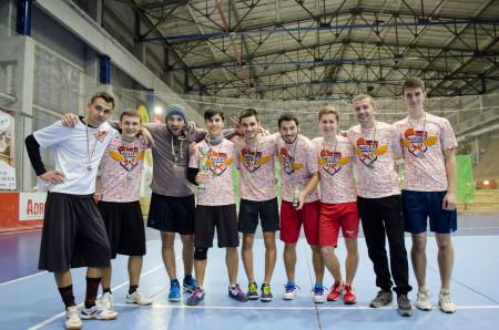 Команда Madcaps натурнире Lubart Ultimate Cup 2016 (ОД, 2/8)