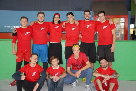 Команда E-Motion на турнире Lubart Ultimate Cup 2016 (ОД, 7/8)