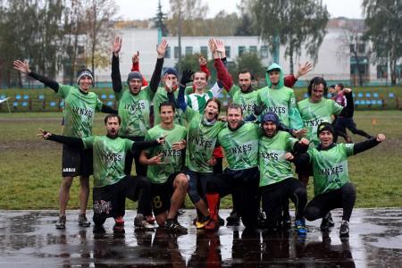 Команда Lynxes натурнире Закрытие сезона 2016 (ОД, 4/9)