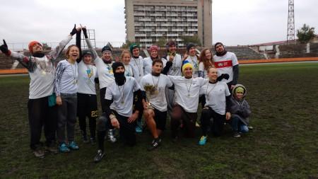 Команда Kyiv Family натурнире МиксЧУ 2016 (МД, 1/10)