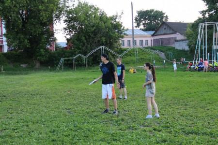 Команда Сурикаты натурнире Ultimate frisbee 3Х3 «HEAT 2016» (МД, 1/7)